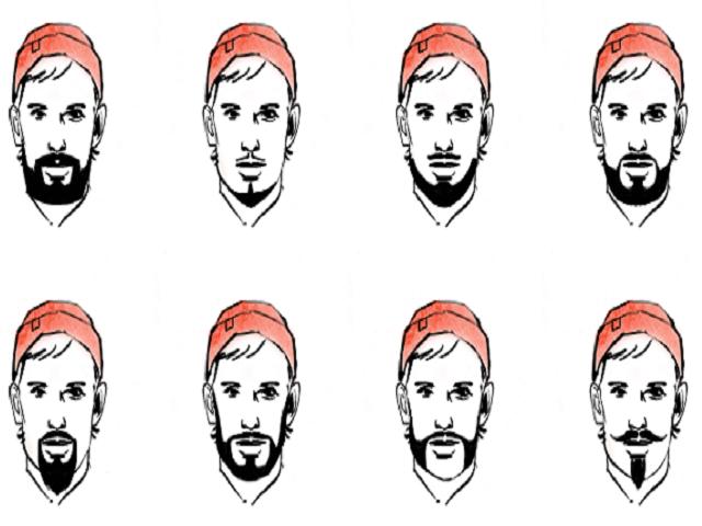 Как сделать форму бороды