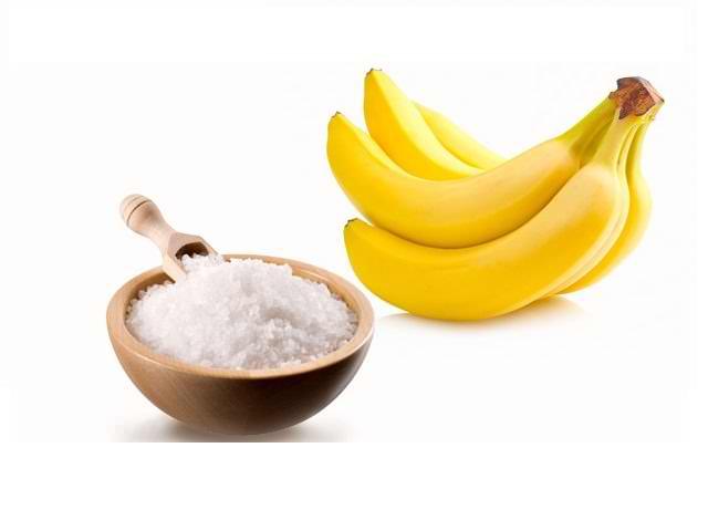 Маска для волос с медом и бананом