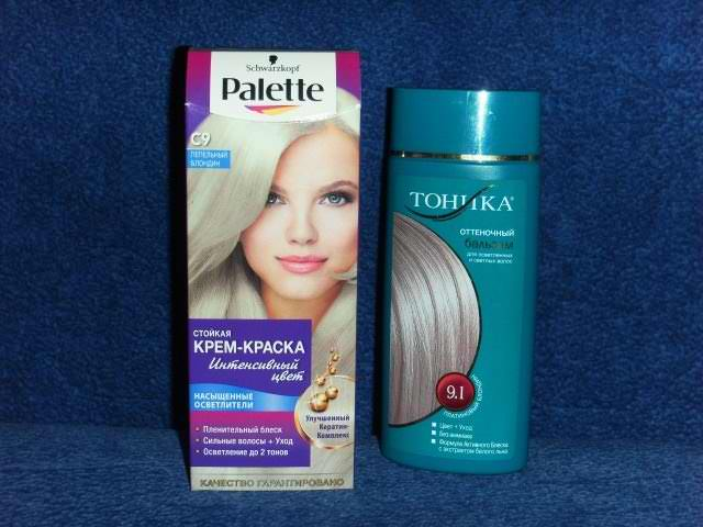Как избавиться от тоника на волосах