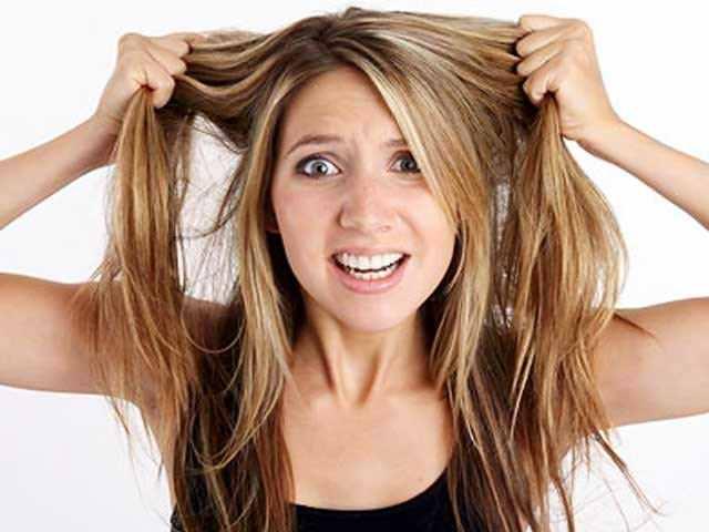 Столовый уксус для волос