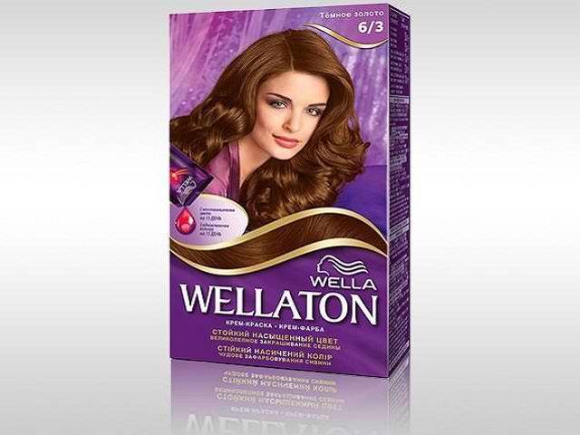 Краска для волос Wellaton
