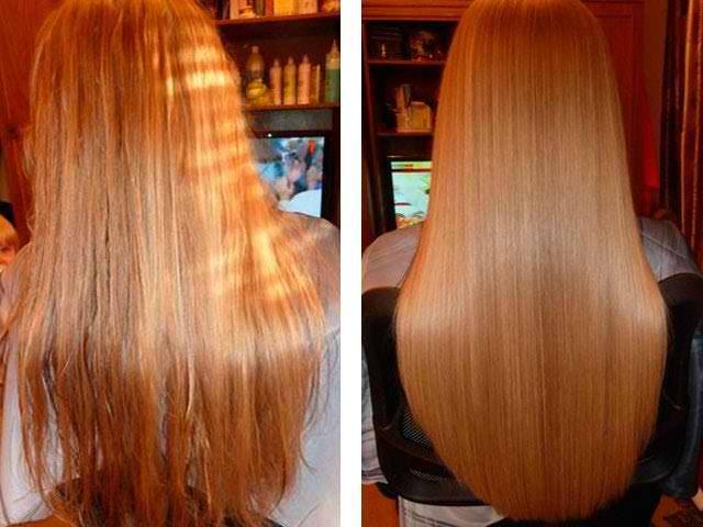 Ламинирование желатиновая маска для волос