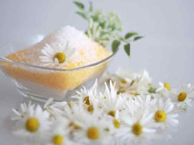 Соль в кондиционер для волос