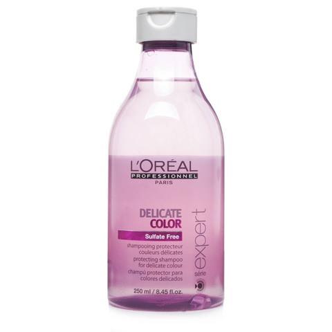 Безсульфатный шампунь L'Oreal Professional Delicate Color