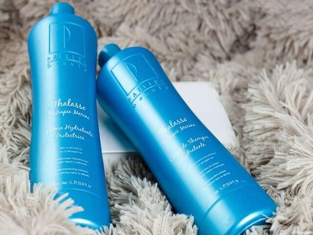 Увлажняющий крем-шампунь и кондиционер для сухих или поврежденных волос
