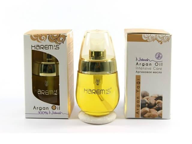 Масло золотой шелк с маслом арганы