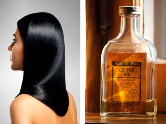 Касторовое масло и Седина