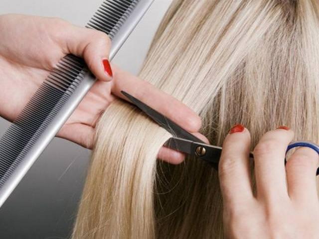 Стрижка светлых волос