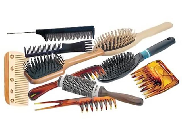 расческа для кудрявых волос
