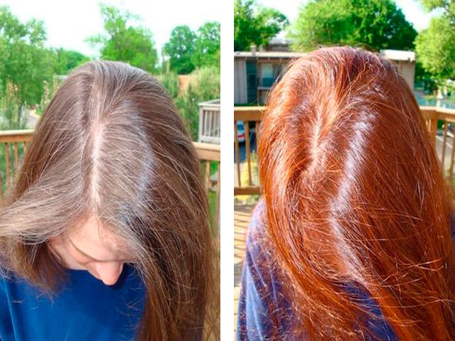 Почему волосы окрашенные хной нельзя красить