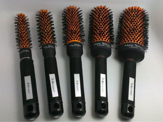 Керамические щетки для укладки волос разного размера