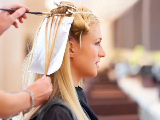 Разделение волос по методу крафт