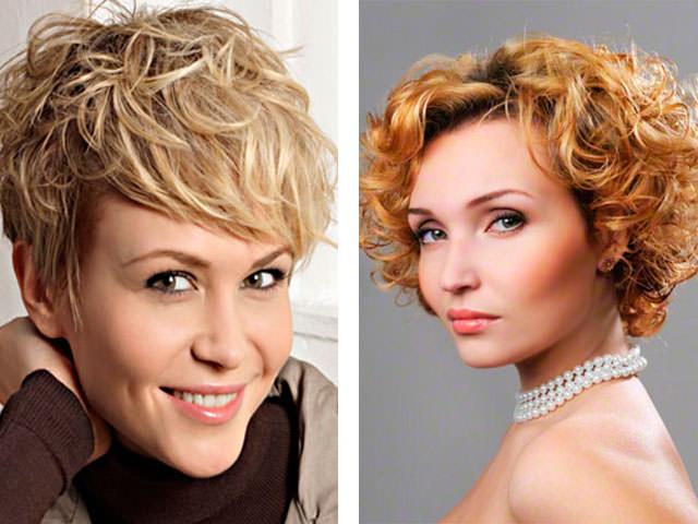 Челка для вьющихся волос фото до и после
