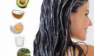 Маска для блеска волос и ее компоненты