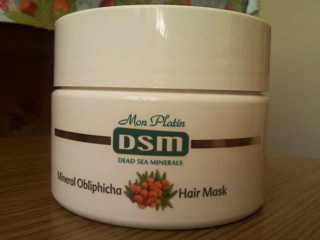 Маска для вьющихся волос с облепиховыми маслом