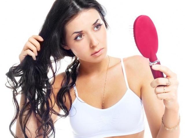 подсчет выпавших волос