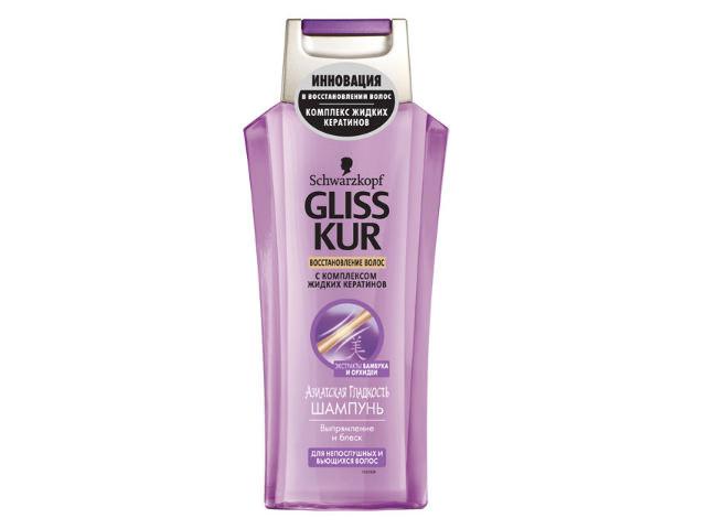 Флакон шампуня Gliss Kur для вьющихся волос