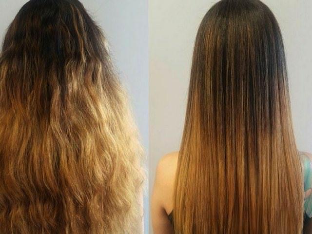 Уход за волосами выпрямление косметика