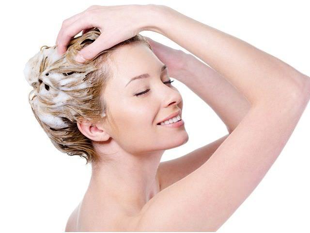 использование домашнего шампуня