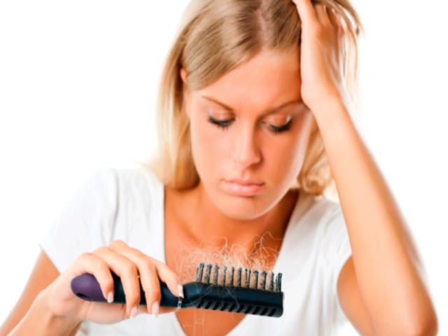 Волосы покидают шевелюру