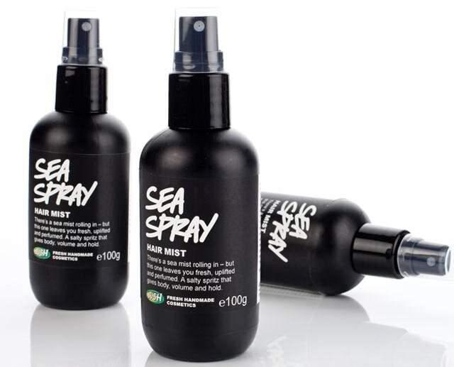 Спрей с морской солью для волос