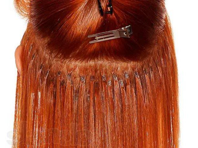 Что значит микрокапсульное наращивание волос?