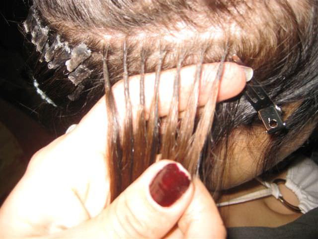 Наращивание волос сколько Локонов на голову