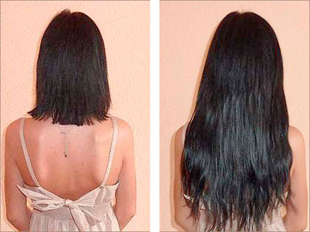 уход за нарощенными волосами