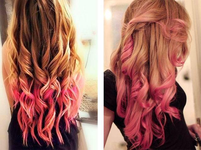 Чем осветлять волосы при омбре