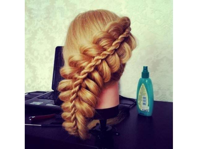 Заплести косу ребенку