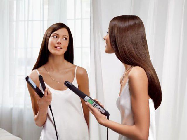 Как накрутить волосы утюжком видео?