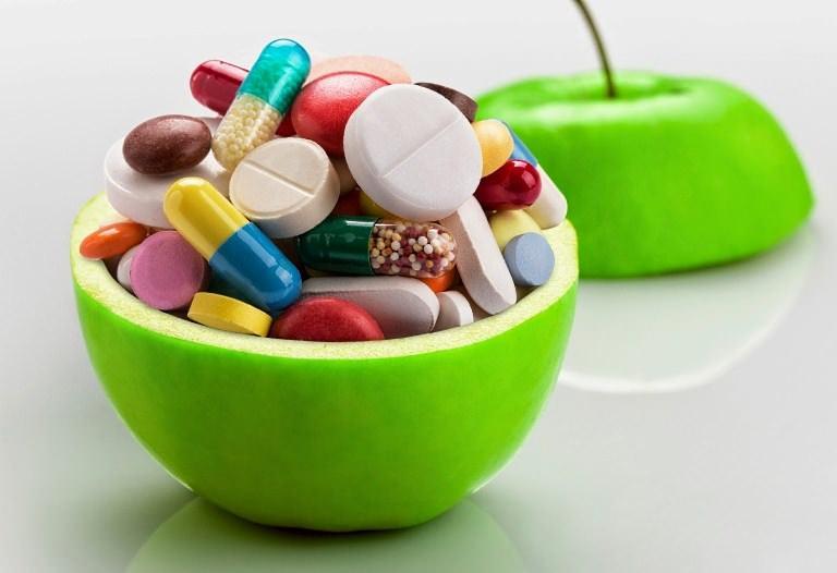 Витамины в пиале