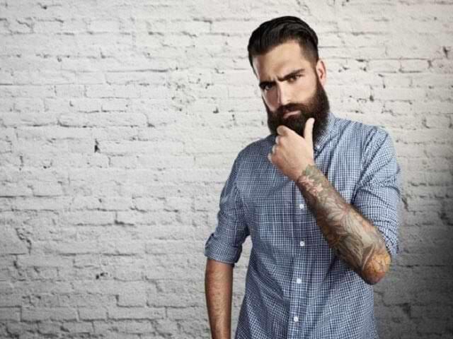 От чего лысеет борода у мужчин