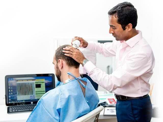 Биопсия алопеции для точного диагноза