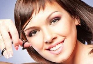 Как ровно обрезать волосы самой себе