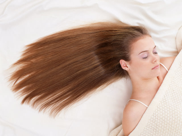 волосы разными цветами сонник