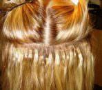 Горячее наращивание волос итальянским способом