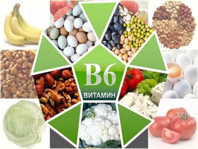 Продукты, содержащие витамин группы В6