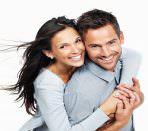 Мужчина и женщина с модными прическами